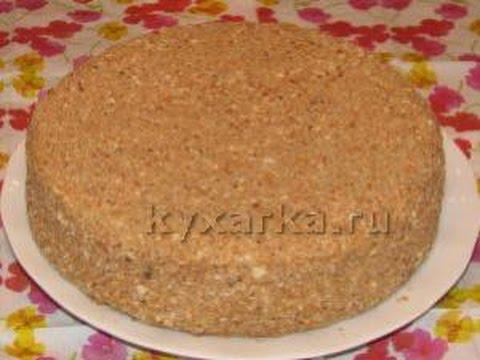 легкая славянка торт рецепт