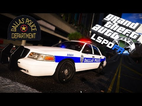 GTA 5 LSPDFR - Dallas Police Department - LIVE RADIO!