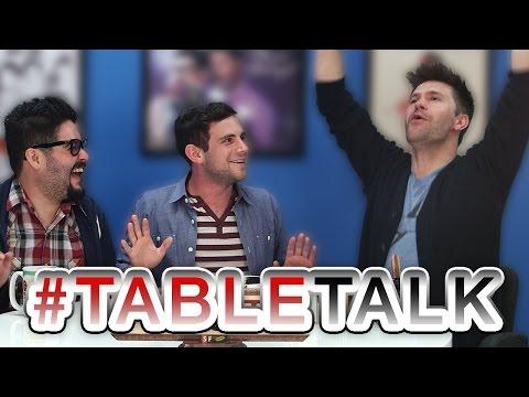 Matt Discovers Eggnog and Naughty T Shirts on #TableTalk!