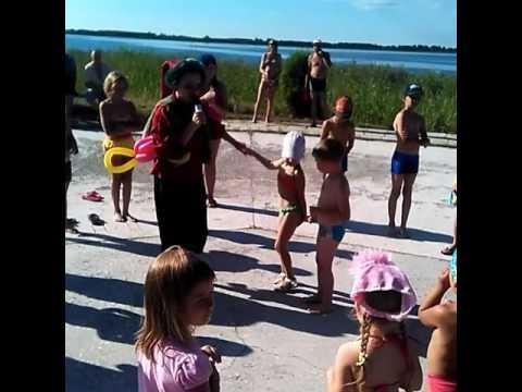 Санаторий Сосновая роща Курганская область, пляж, 1 августа 2016г.