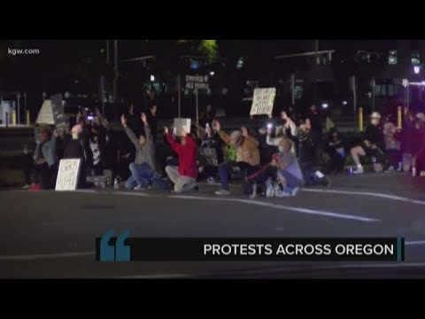 Protests over George Floyd's death taking place throughout O