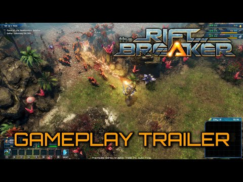 The Riftbreaker – Gameplay Trailer PEGI