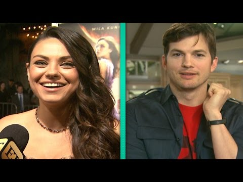Mila Kunis Gets Sweet Video Message From Ashton Kutcher on the Red Carpet