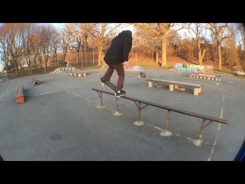 Michigan Winter: Grand Rapids Clemente Skatepark