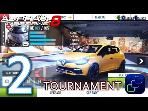 Asphalt 8: Airborne Walkthrough - TOURNAMENT Part 2 - EUROPE CITY Sport League Events