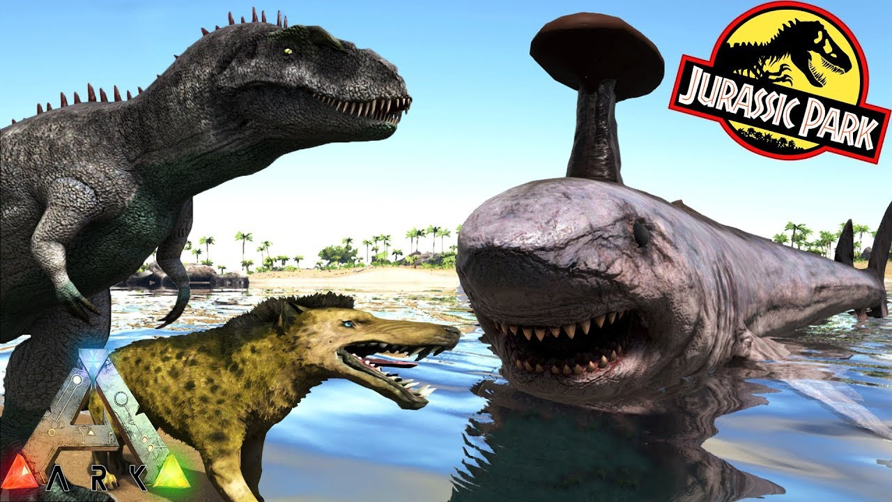 eb60e6232 ARK ANVIL SHARK, TYRANNOTITAN & MORE EPIC NEW CREATURES!! Ark Survival  Evolved Jurassic Park Mod