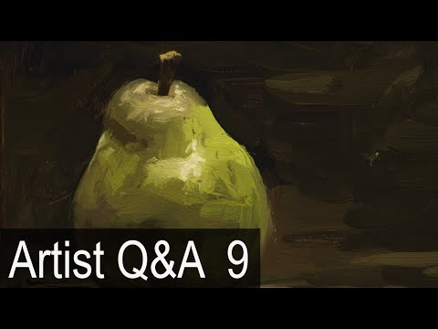 Alla Prima Brushwork Demo & more – Ep.9 Oil Painting Q&A wit