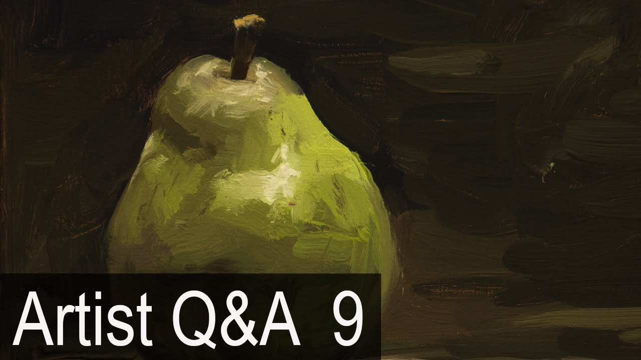 Alla Prima Brushwork Demo More Ep 9 Oil Painting Q A With Mark