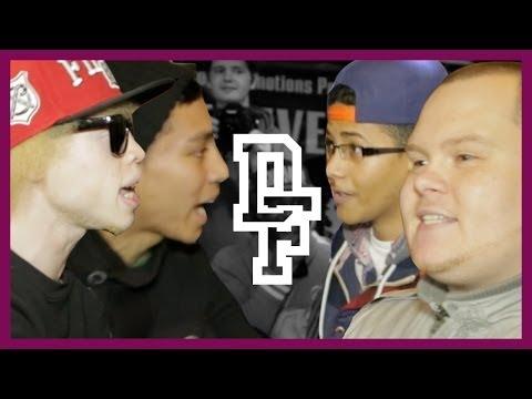 CARLOSS & VILLUN VS BIG J & LEFTY | Don't Flop Rap Battle