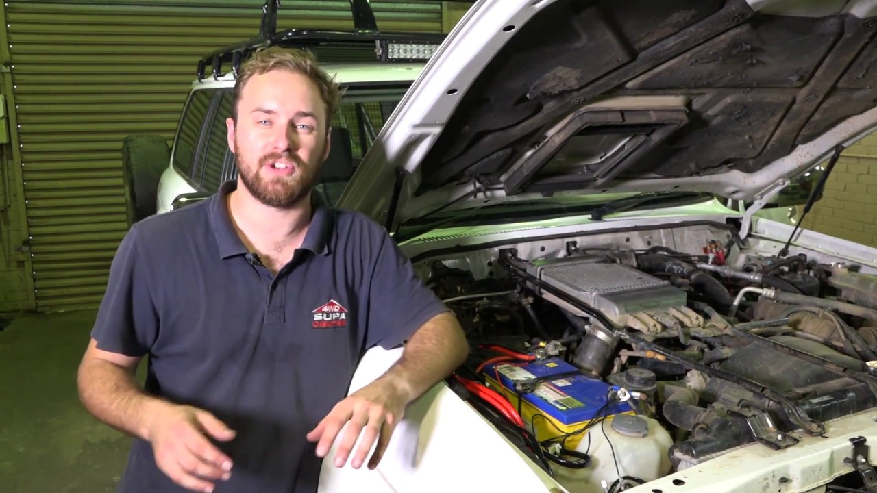Diy Install Check Out This Supa Simple Kings Dual Battery Kit Imax Winch Wiring Diagram 12v