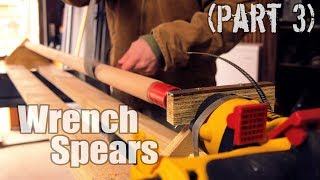 DIY Lathe in a Day + Turning Spear Handles (Wrench Spears Part 3)