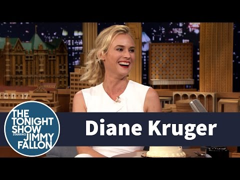 Diane Kruger Gets a Birthday Surprise from The Tonight