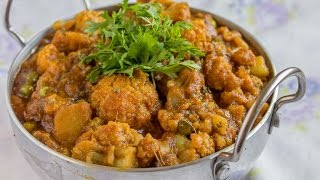 Sarson Wali Aloo Gobi Matar (green Peas-potato-cauliflower Curry)