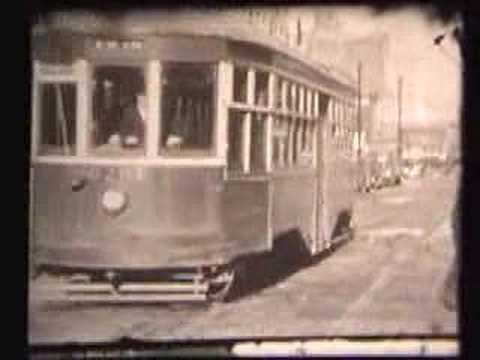 Vintage Film of Brooklyn Trolleys Circa 1930s