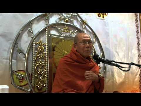 Dhamma Talk by Dhamma Bayri Ashin Wiriya (Tong Soon) Singapore