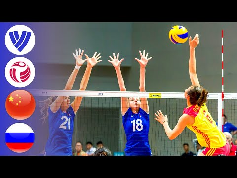 China vs. Russia - Full Match | Women's Volleyball World Grand Prix 2017