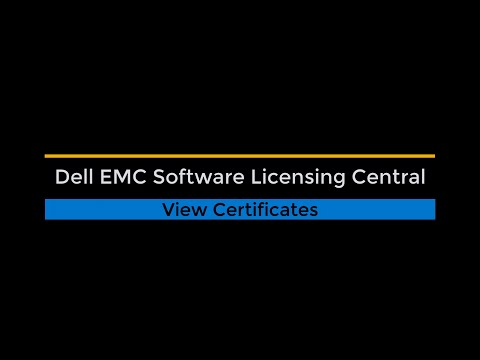Software Licensing Central Certificate Management
