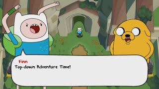 Adventure Time: The Secret of the Nameless Kingdom Walkthrough Part 1 - Reaching the Song Temple