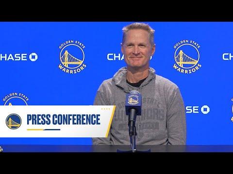 Warriors Talk: Steve Kerr End of Season Press Conference - YouTube