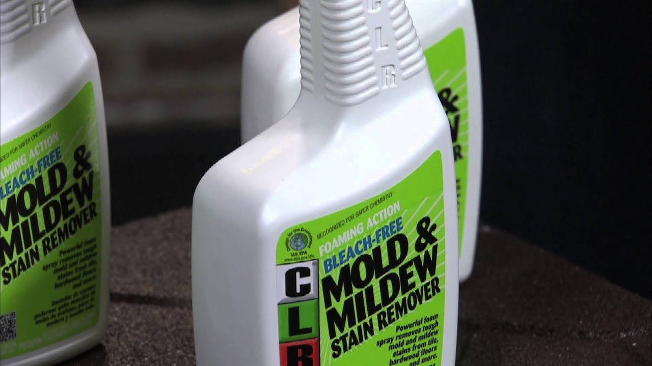Clr Mold Mildew Stain Remover Is Perfect For Spring Cleaning Youtube