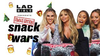 Little Mix Try Christmas Snacks From Around The World | Snack Wars | Tyla