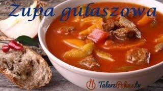 Zupa gulaszowa - TalerzPokus.tv