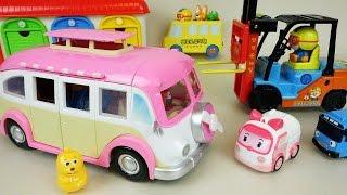 Pororo and Robocar Poli Camping car toys thumbnail