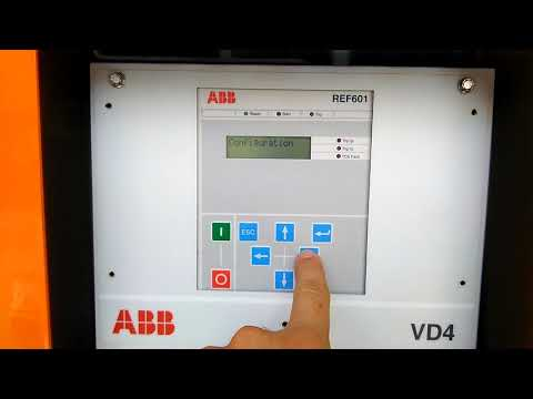 Relê ABB REF 601 - YouTube