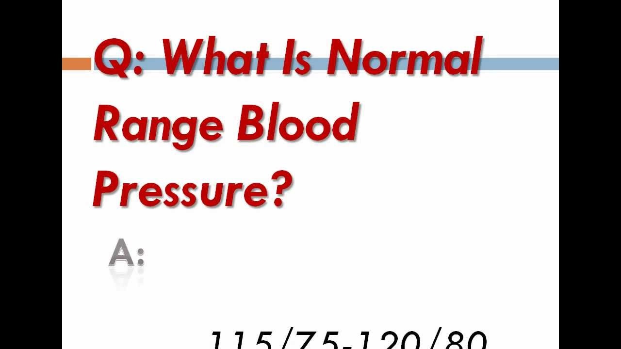 how to keep blood pressure normal