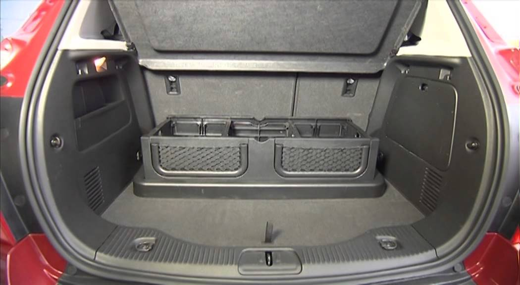 Chevrolet Trax. Modelo 2013. Maletero - YouTube
