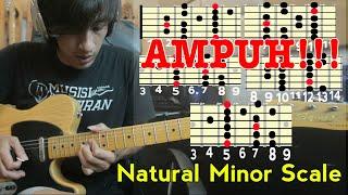 Trik Ampuh Ciptain Melodi Dengan Mudah Natural Minor Scale (Disertai Tab Gitar)
