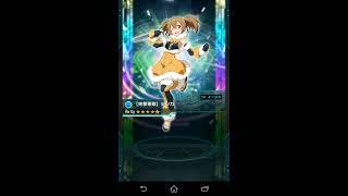 ☆6キャラ追加ガチャ 34連 ソードアートオンライン コードレジスタ