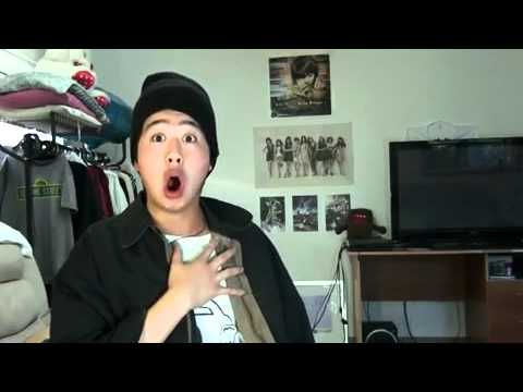 Asian guys lip syncing