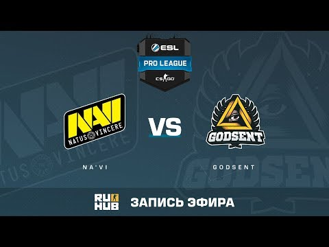 Na'Vi vs GODSENT - ESL Pro League S6 EU - de_overpass [yXo, Enkanis]