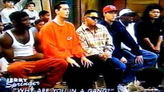 BLACK P-STONES GANGBANGER FROM CHICAGO ON JERRY TALKING ABOUT THE MURDERS HE DID..PART 2 OF 5