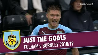 JUST THE GOALS | Fulham v Burnley 2018/19