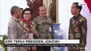 KPK Temui Presiden Jokowi