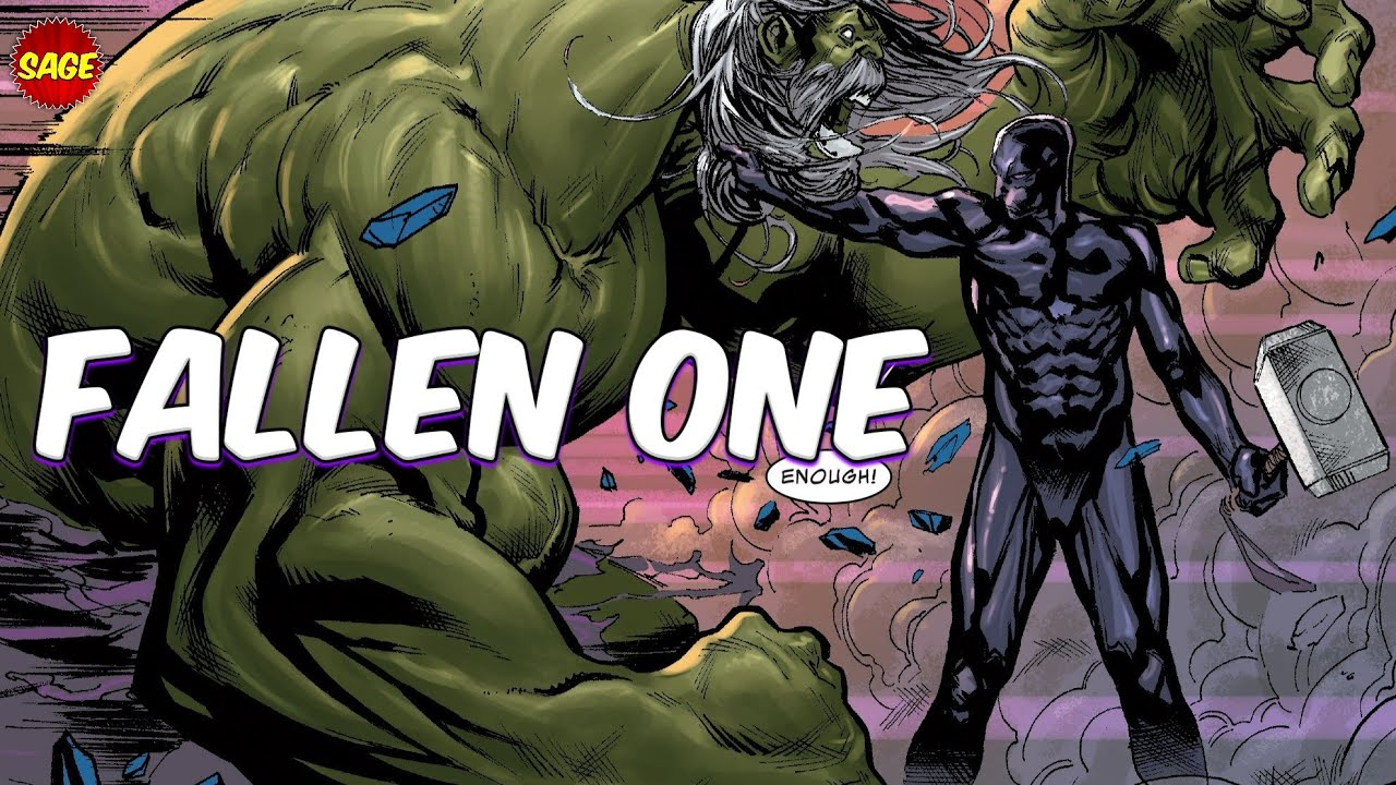 """Who is Marvel's The Fallen One? Silver Surfer's Epic """"Final Form"""""""