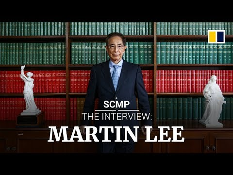 Hong Kong's pro-democracy veteran Martin Lee believes 'democracy will arrive in China'