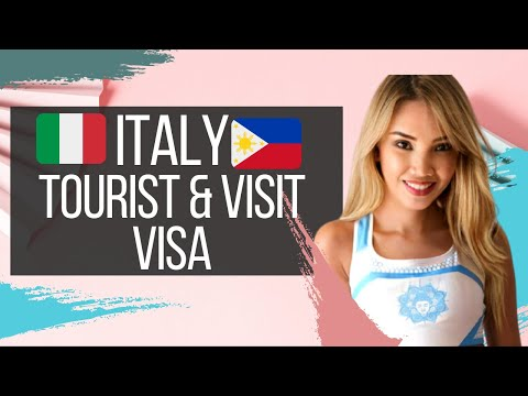 HOW TO APPLY FOR ITALY TOURIST VISA FOR PHILIPPINES PASSPORT HOLDERS