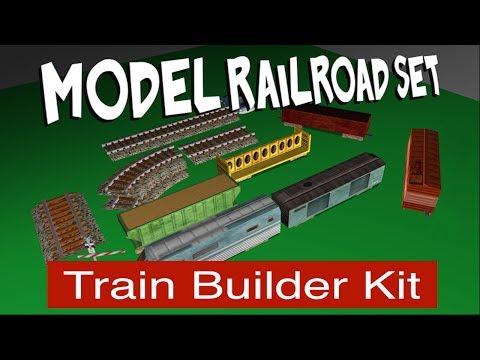 Model Railroad Set – TrainBuilderKit