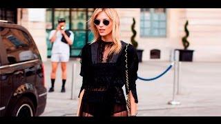Летние образы с черным платьем: модные луки