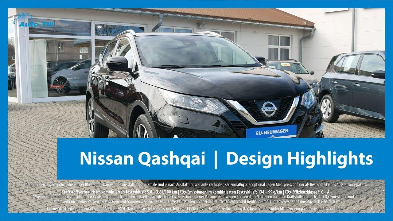 2018 nissan qashqai n-connecta black metallic | design highlights 4k