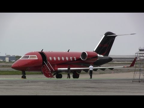 Lewis Hamiltons Private Jet - YouTube