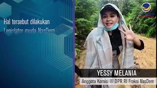 Yessy Melania Reses Masa SIdang I Tahun 2020-2021
