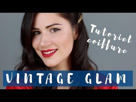 Tutoriel coiffures - Boucles vintage GLAM!