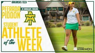 Arkansas Tech Student Athlete of the Week - Peerada Piddon