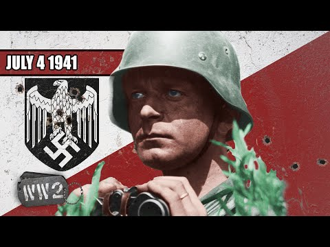 Wehrmacht 1/3 Of Way To Moscow - WW2 - 097 - July 4 1941