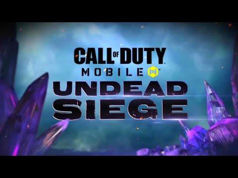 NEW Zombies Undead Siege Trailer! Season 6 Cod Mobile!