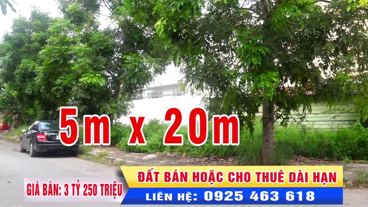 Bán đất khu dân cư Bảo Châu phường 16 quận 8 TpHCM